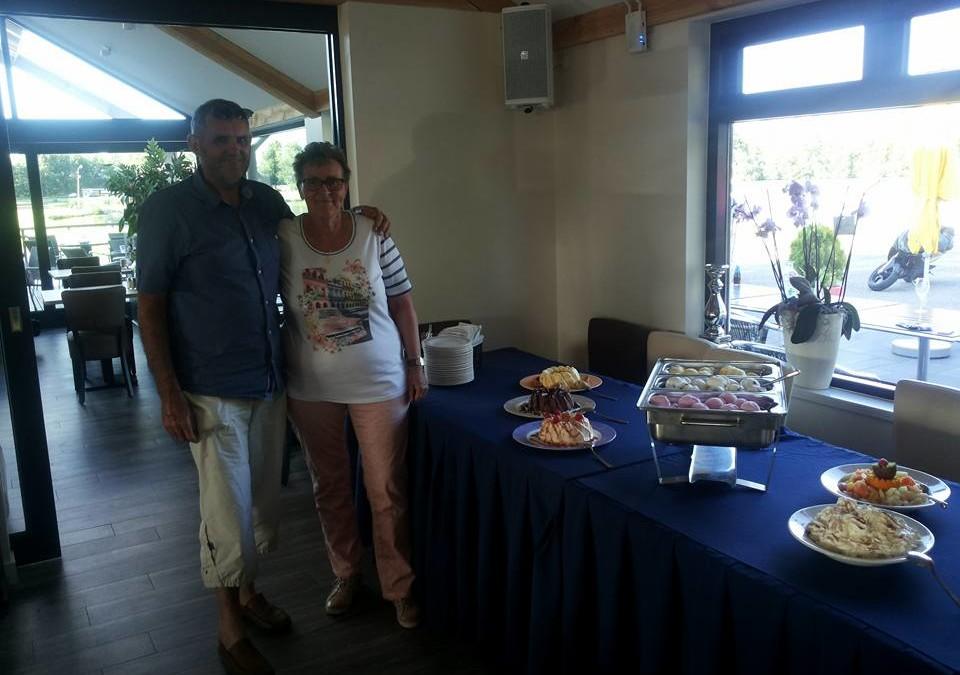 Fam. V.d. Pol BBQ en klein dessertbuffet om de vakantie in te luiden