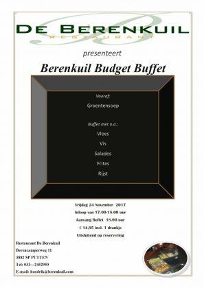 Berenkuil Budget Buffet